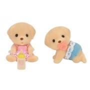 Sylvanian Families Doll Labrador Twins I-106