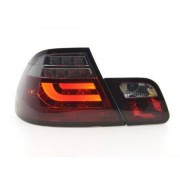 FK-Automotive Led Taillights BMW serie 3 E46 Coupe Yr. 99-03 red/black