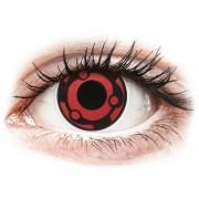 Red Madara ColourVue Crazy Lenses (2 Lenses)