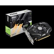 VGA MSI GTX 1050 2G OC, nVidia GeForce GTX 1050, 2GB 128-bit GDDR5, do 1518MHz, DP, DVI-D, HDMI, 36mj