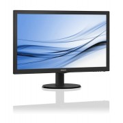 "Philips 223V5LSB, 21.5"" Wide TN LED, 5 ms, 10M:1 DCR, 250cd/m2, 1920x1080 FullHD, DVI, Black"