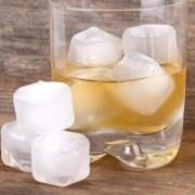 Kikkerland Plastic ijsblokjes (set van 30) - Transparant