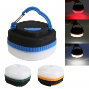 Mini lampa camping LED suport prindere magnetic si carlig