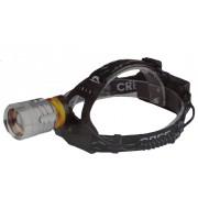 200w Fejlámpa 2db Akkumulátorral Cree Led Zoom - T615
