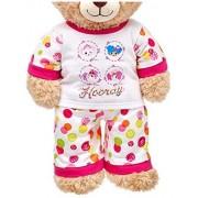 Build A Bear Lalaloopsy Hooray P Js 2 Pc. Doll Teddy Size Outfit