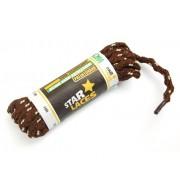 PROMA Tkaničky (šněrovadla) STAR LACES SLIM 123p3810 hnědo-béžová 120 cm