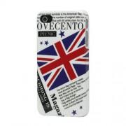 GadgetBay Ovecento - Étui pour journal anglais avec drapeau et drapeau anglais britannique pour iPhone 4 4s