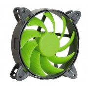 Ventilator Nanoxia Special N.N.V., 120mm, 2000 RPM (Negru/Verde)