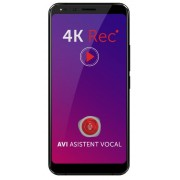 "Smartphone Allview X4 Soul Infinity Plus, Procesor Octa-core, 2.4GHz, IPS LCD Capacitive touchscreen 6"", 6GB RAM, 64GB FLASH, Camera Duala 13+5MP, Wi-Fi, 4G, Dual Sim, Android (Negru)"