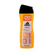 Adidas AdiPower osvěžující a energizující sprchový gel 3v1 pro muže