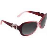 Abner Oval Sunglasses(Black)