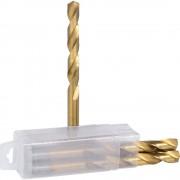 KS Tools HSS TiN Spiralbohrer 5er Pack Durchmesser 11.8 mm, VE 2 Pack