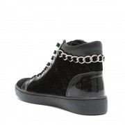 Guess Sneakers alti con inserti nere