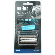 Braun borotvaszita + vágóblokk 32b, Series 3 340