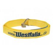 Westfalia Zurrgurt Losende 7,5 Meter/ 4000 Dekanewton Gelb mit Spitzhaken
