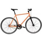 """Bicicleta Oras DHS Fixie 2895, Cadru 20.9"""" (Portocaliu)"""