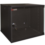 "WP Wall Mount Rack 19"" RWA Series 15U WxDxH: 540x600x720 mm, Black RAL 9005 WPN-RWA-15606-B"