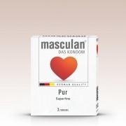 Masculan Pur extra vékony óvszer (3 db)