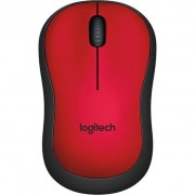 Mouse Logitech M220 Silent Red