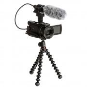 Sony Handycam FDR-AX53 4K + Microfon ECMCG60 + Trepied Flexibil Gorillapod
