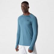 Myprotein Koszulka z Długim Rękawem Dry-Tech z Kolekcji Infinity – Niebieska - L - Cadet Blue