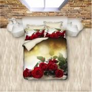 """Спално бельо с 3D мотив """"Rose Boquet"""" Ранфорс - 100% Памук"""