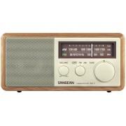 WR-11 Asztali rádió fa dobozos precíziós hangolás dió színű