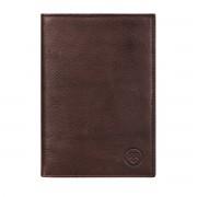 Maxwell-Scott Herren Leder Brieftasche in Dunkelbraun - Weiches Leder - Geldbörse, Portemonnaie, Geldbeutel, Kreditkartenetui