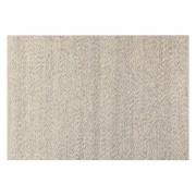 Alfombra marfil en lana 140 x 200 cm WOOL - Miliboo