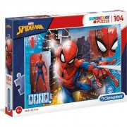 Puzzle Clementoni SuperColor Marvel Spider-man, 104 piese