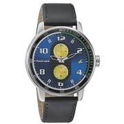 Fastrack Quartz Black Dial Mens Watch-3159SL02