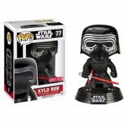 Funko Pop Kylo Ren Unhooded Target Sticker Star Wars Exclusive