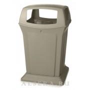 Rubbermaid Уличный контейнер для мусора Rubbermaid Ranger FG917388BEIG