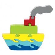Skillofun Wooden Take Apart Puzzle Large - Ship, Multi Color