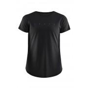 CRAFT Deft női póló, fekete fekete M