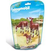 Playmobil City Life - Zoo, Familie de okapi