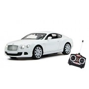 JRPT Bentley Continental GT Remote Control R/c 1:16 Scale Original Licence Version Remote Control Full Function with Battery and Charger (Color May Vary As Per Availability)