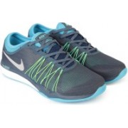 Nike NIKE DUAL FUSION TR HIT Running Shoes For Men(Blue)