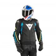 Dainese Blouson Dainese Super Speed 3 Noir-Bleu-Jaune Fluo L 54