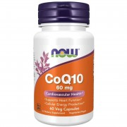 Now Foods Koenzym Q10 60 mg 60 kapslí - 60 kapslí