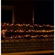 Home LED-es fényfüzér melegfehér (KKL 1000C/WW)