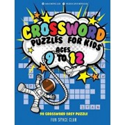 Crossword Puzzles for Kids Ages 9 to 12: 90 Crossword Easy Puzzle Books, Paperback/Nancy Dyer