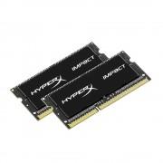 Kingston Technology HyperX Impact 16GB Kit 1600MHz DDR3L CL9 SODIMM 1.35V Laptop Memory (PC3 12800) HX316LS9IBK2/16 Black