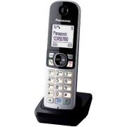 Panasonic Kx-Tga681exb Telefono Cordless Dect Gap Aggiuntivo Per Modelli Serie Kx-Tg68 - Kx-Tga681exb