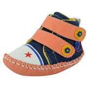 ESSENCE Baby Girls' Multi-Coloured First Walking Shoes(6-12 Month)