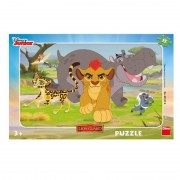 Puzzle Garda Felina Dino Toys, 15 piese, 25 x 14.5 cm