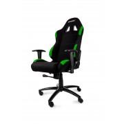 AKRacing K7012 Gaming Chair Black/Green AK-K7012-BG