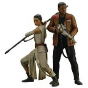 Jucarie Star Wars Episode Vii Rey & Finn Art Fx+ Statue 2 Pack
