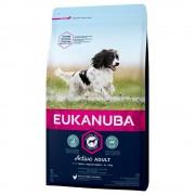 Eukanuba Active Adult razas medianas con pollo - 3 kg