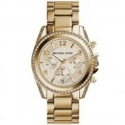 Michael Kors Ladies' Blair Chronograph Watch MK5166 Or